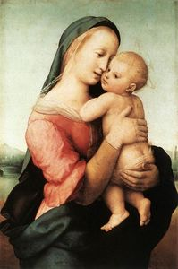 Detail of the 'Tempi' Madonna