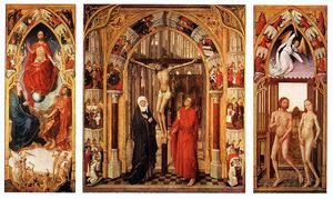 Triptych of the redemption