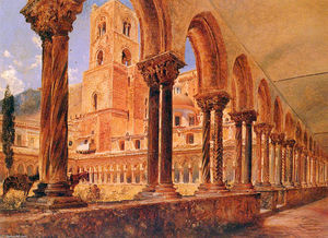 A View Of Monreale, Above Palermo