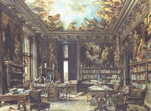 The library in the Palais Dumba
