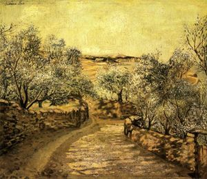 The Lane to Port Lligat with View of Cap Creus