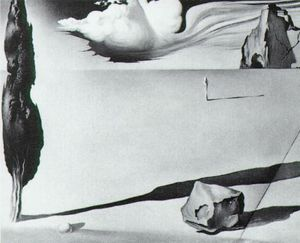 Design for the set of the film 'Spellbound'