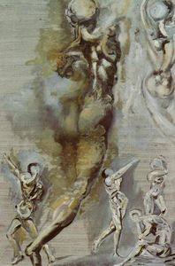 Untitled - Nude Figures after Michelangelo