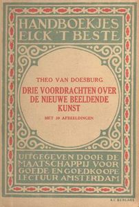 Cover of ''Three lectures about the new art''