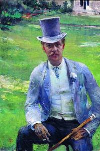 Portrait of Octave Maus as Dandy