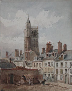 View of the belfry of Orleans