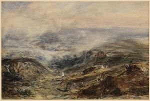 Paysage in Auvergne