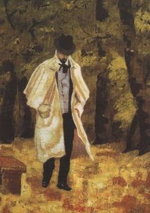 Man in the woods of Boulogne