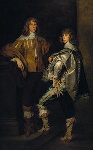Lords John and Bernard Stuart