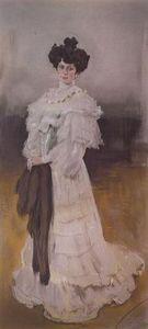 Portrait of E.A. Krasilschikova