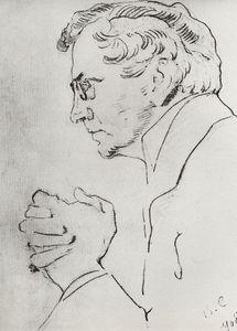 Portrait of V.I. Kachalov