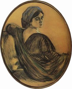 Portrait of Henrietta Girshman