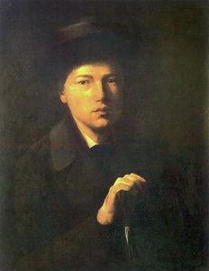 Portrait of Nikolai Kridener, the Artist s Brother