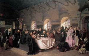A Meal in the Monastery