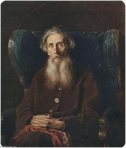 Portrait of the Author Vladimir Dahl