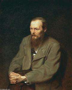 Portrait of the Author Feodor Dostoyevsky