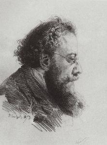 Portrait of A. V. Prahov, art historian and art critic