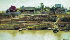 A settlement near Volga