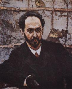 Portrait of I. E. Krachkovsky