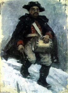 Soldier with drum