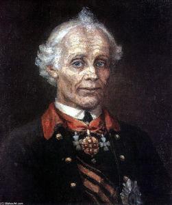 Portrait of Alexander Suvorov