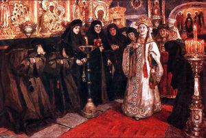 Tsarevna's visit of nunnery