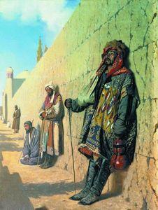 Beggars in Samarkand
