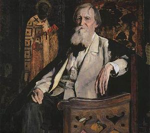 Portrait de Mikhail Nesterov