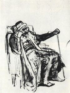 Rough outline of the image of Ivan the Terrible