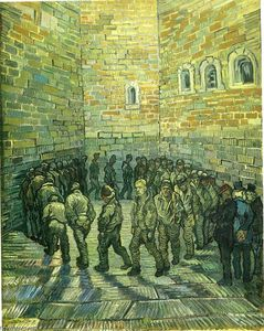 Prisoners Exercising (Prisoners Round)