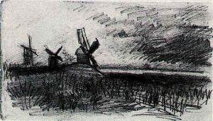 Windmills at Montmartre