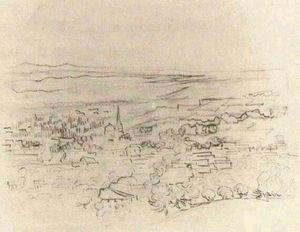 Bird's Eye View of Saint-Remy