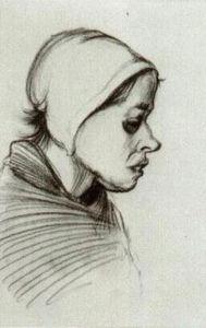 Peasant Woman, Head