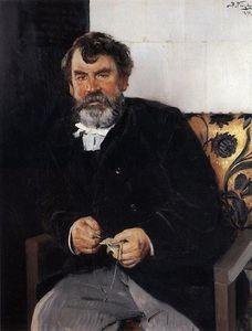 A portrait of E. S. Sorokin