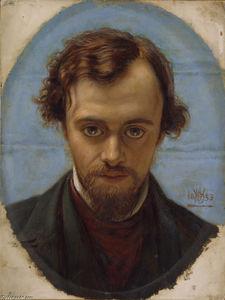 Portrait de Dante Gabriel Rossetti