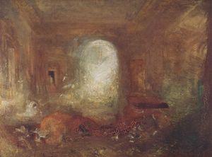 Interior of Petworth House