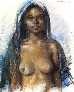 Moroccan girl.Marrakesh