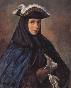 Alexander in costume