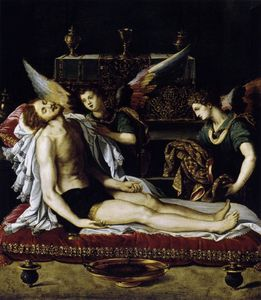 The Body of Christ with Two Angels