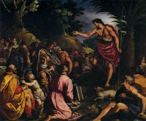 The Preaching of St John the Baptist