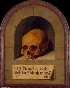 Skull in a Niche