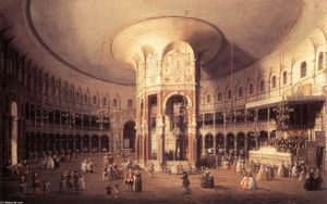 London: Ranelagh, Interior of the Rotunda