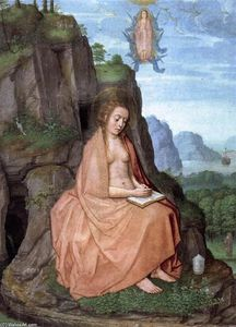 Grimani Breviary: Mary Magdalen Penitent