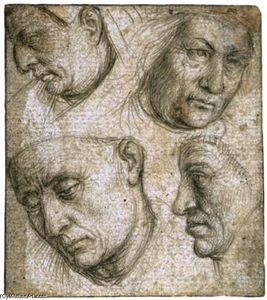 Study of Four Heads