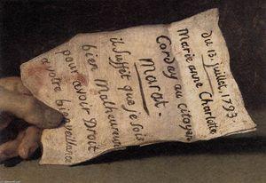 The Death of Marat (detail)