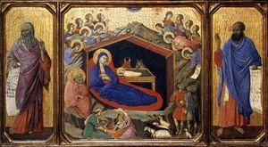 The Nativity between Prophets Isaiah and Ezekiel