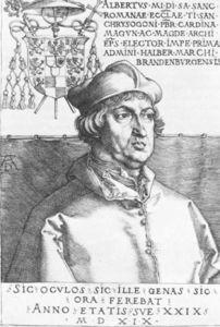 Cardinal Albrecht of Brandenburg or, The Small Cardinal