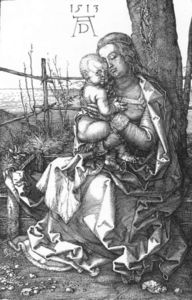 Madonna and Child by a Tree