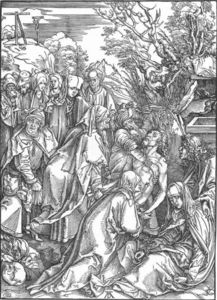 The Large Passion: 8. The Entombment