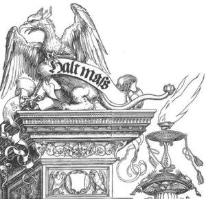 Triumphal Arch (detail)